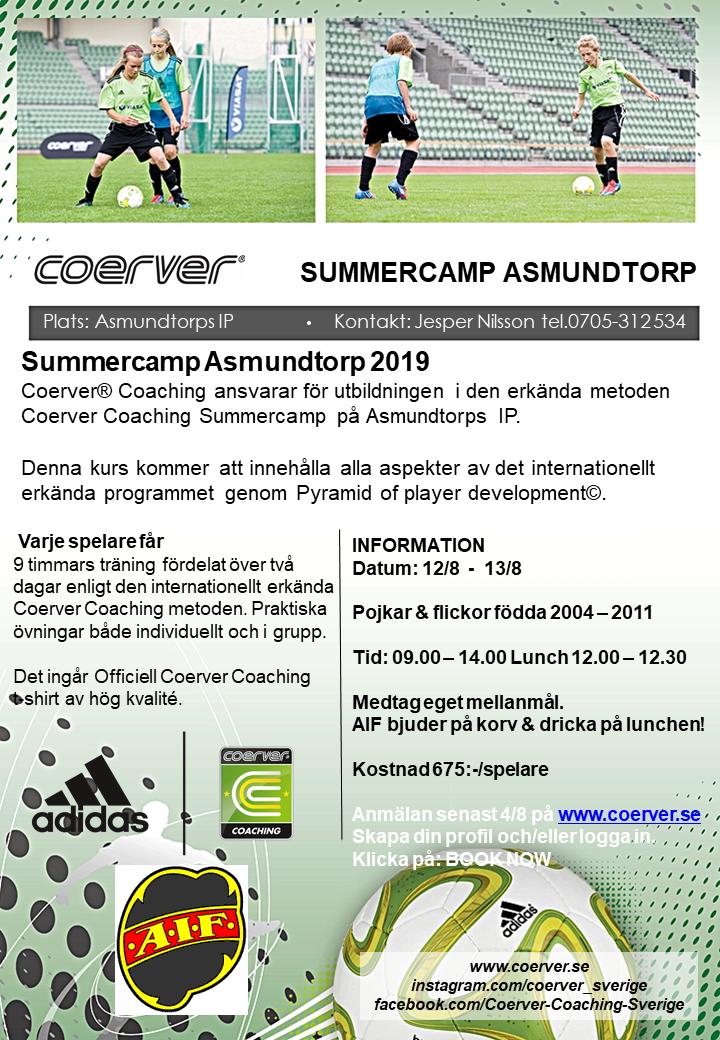 Summercamp Asmundtorp 2019