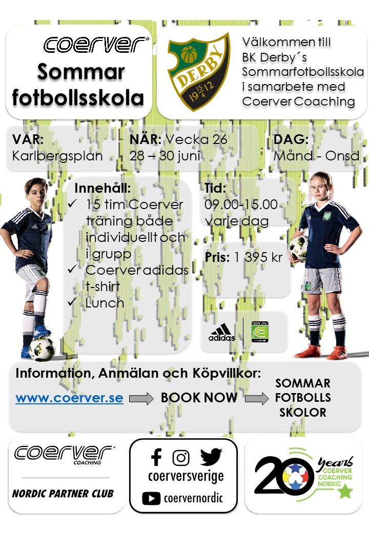 BK Derby´s Sommarfotbollsskola 2021