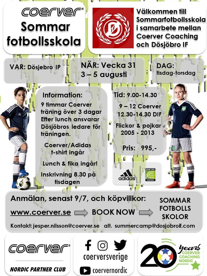 Summercamp Dösjöbro 2021