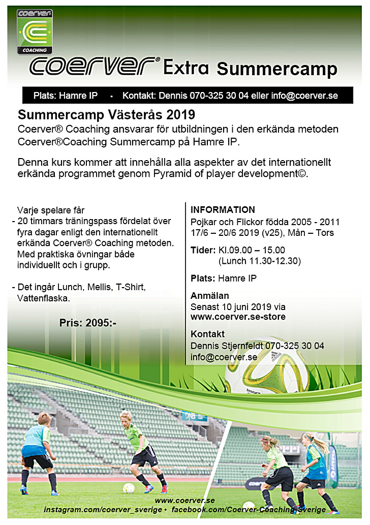 Summercamp Västerås