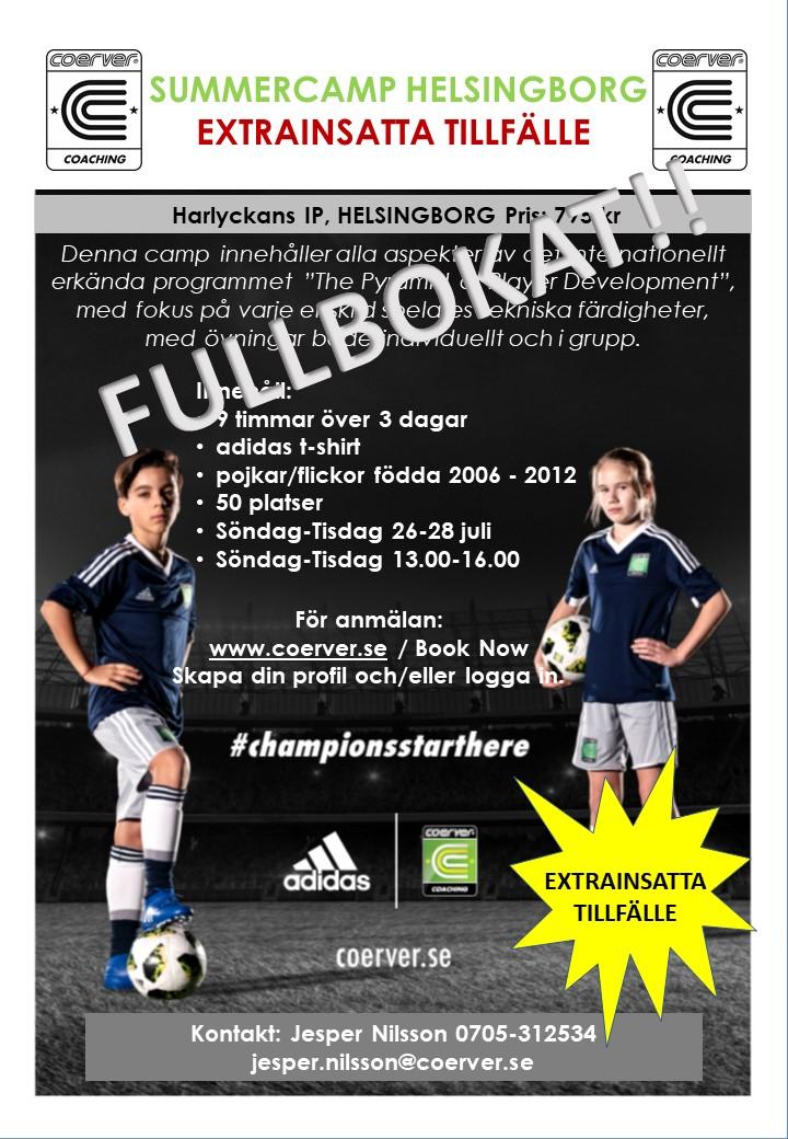 Summercamp Harlyckan Extra, HBG 2020