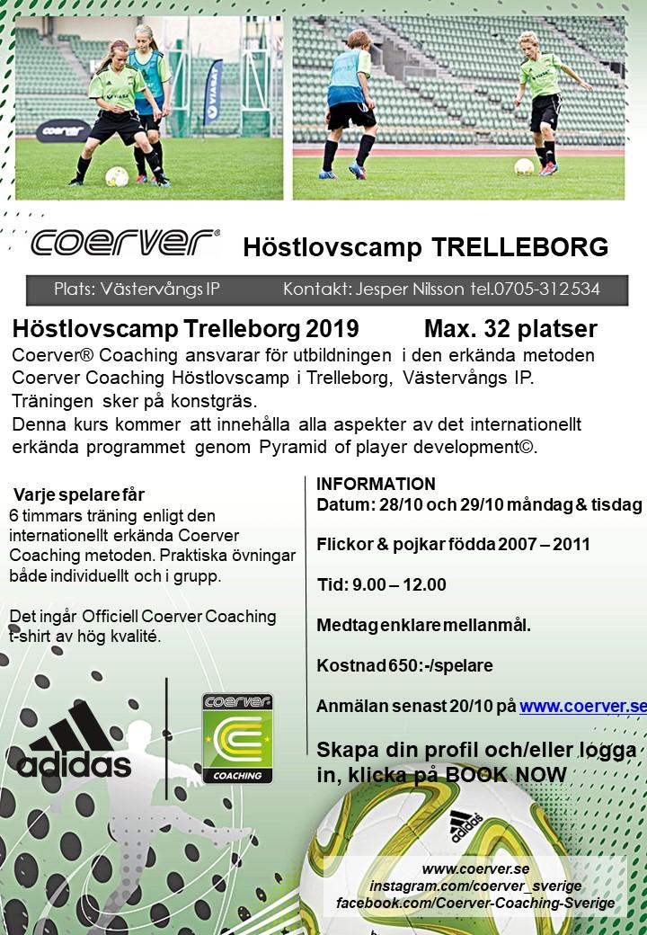 Höstlovscamp Trelleborg 2019