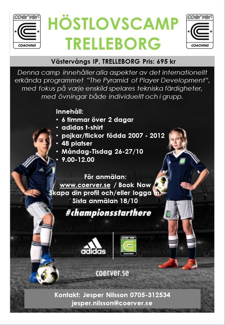 Höstlovscamp Trelleborg 2020