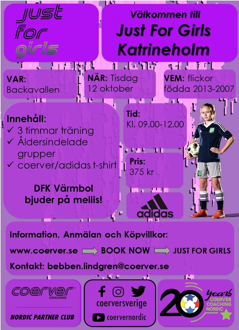 Skill Day Just For Girls Katrineholm