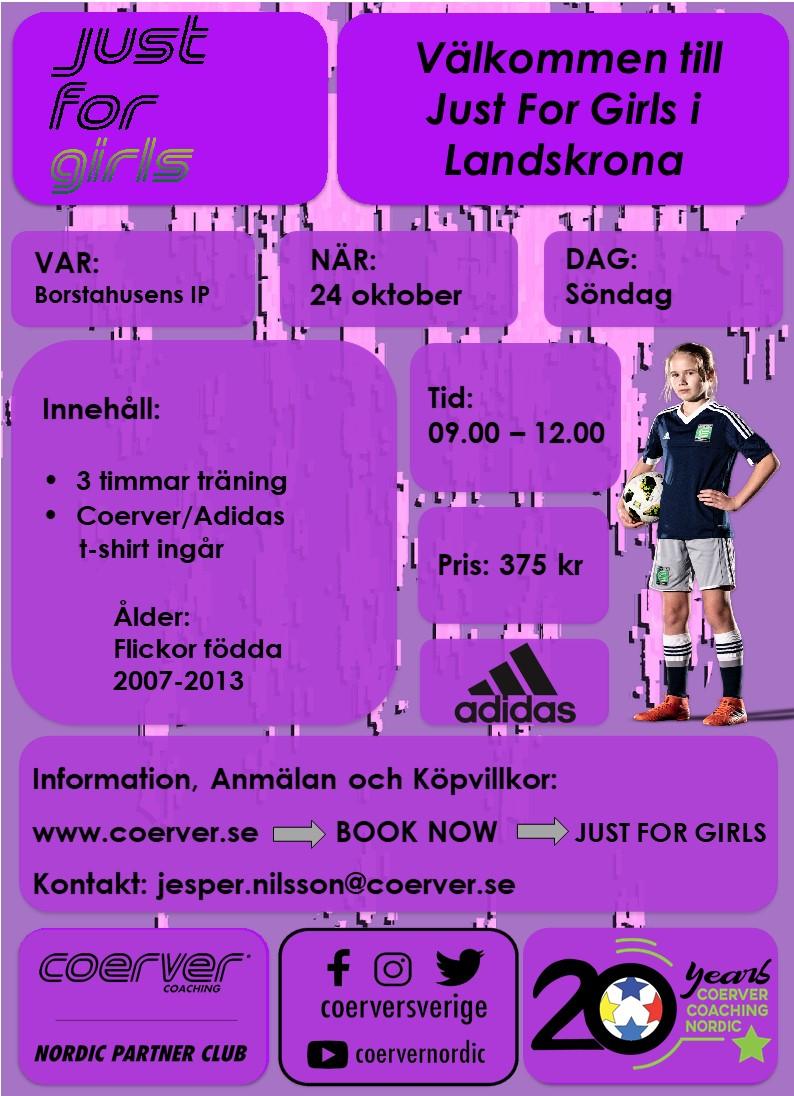 Just 4 Girls Landskrona 2021