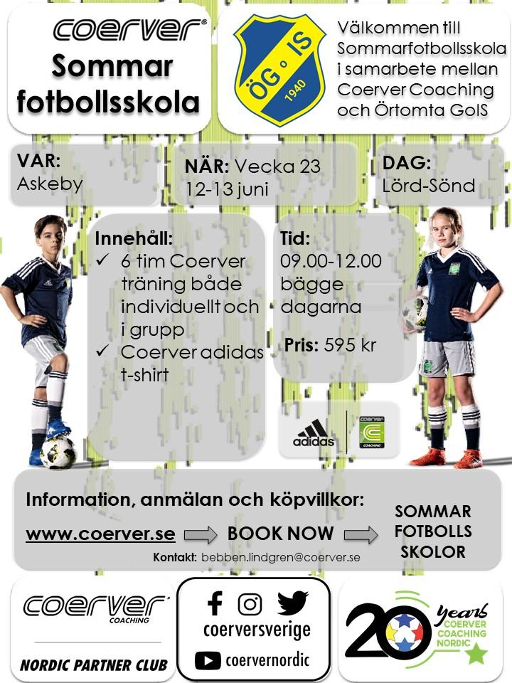 Örtomta GoIS Sommarfotbollsskola 2021