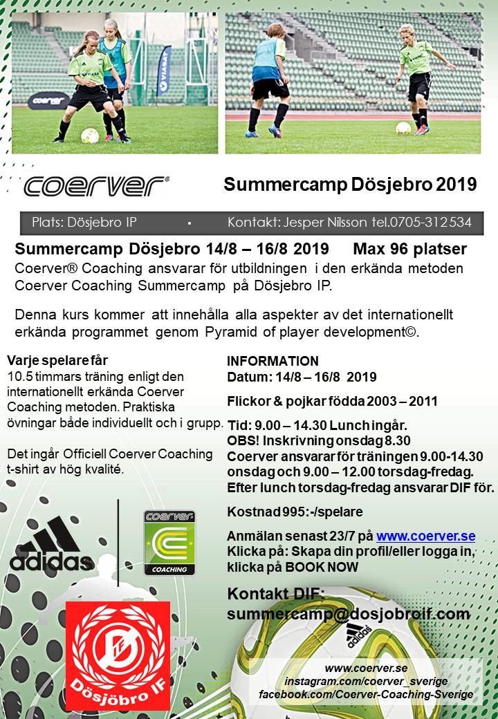 Summercamp Dösjebro 2019