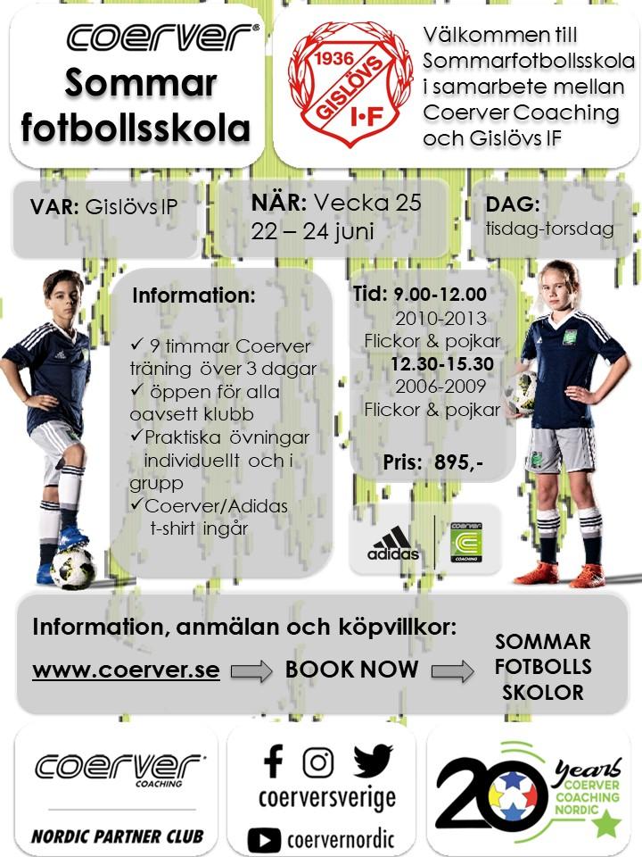 Summercamp Gislöv 2010-2013