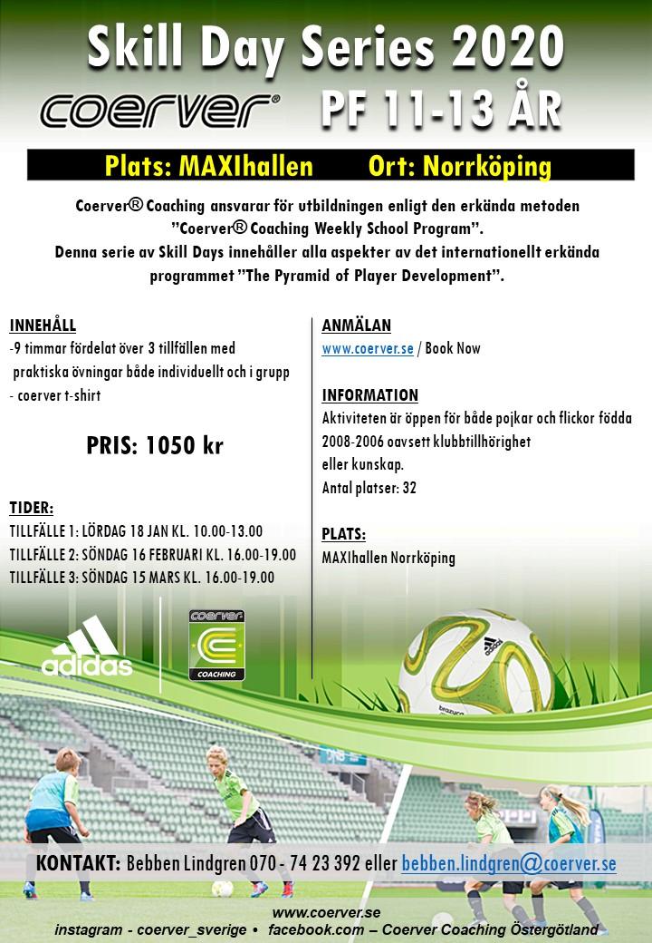 SKILL DAY SERIES NORRKÖPING 2020 11-13 ÅR