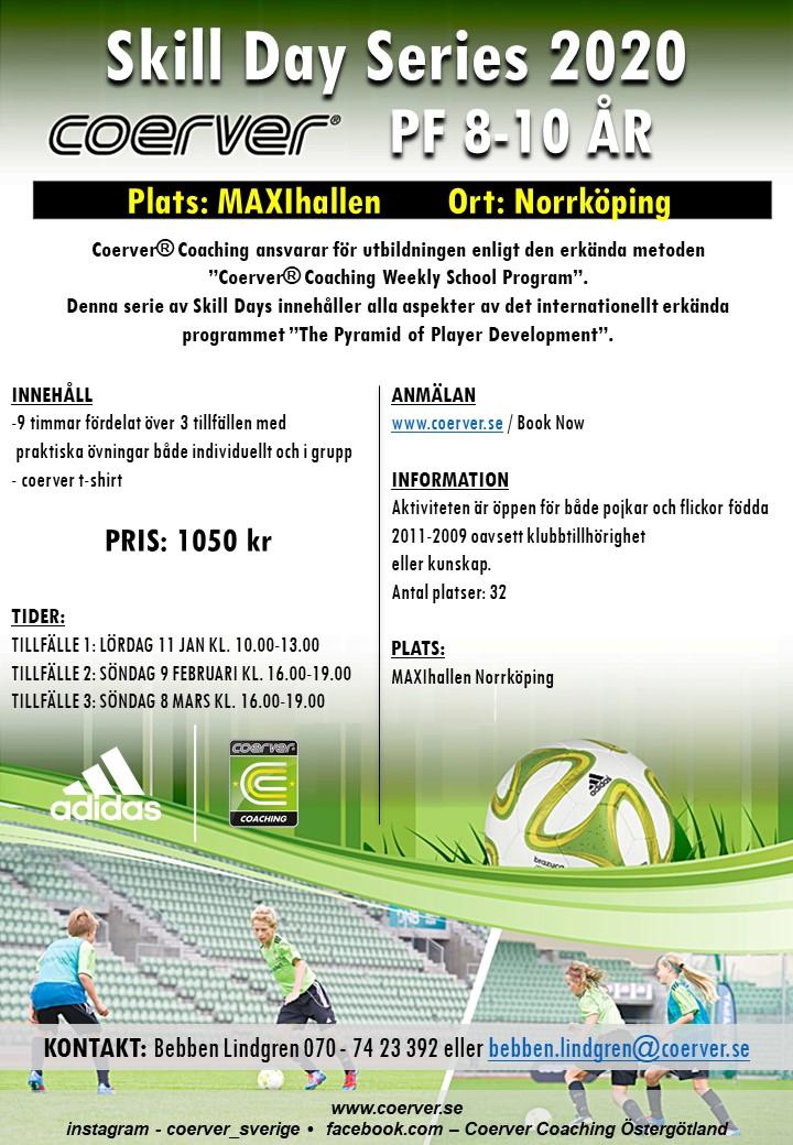 SKILL DAY SERIES 2020 NORRKÖPING 8-10 ÅR