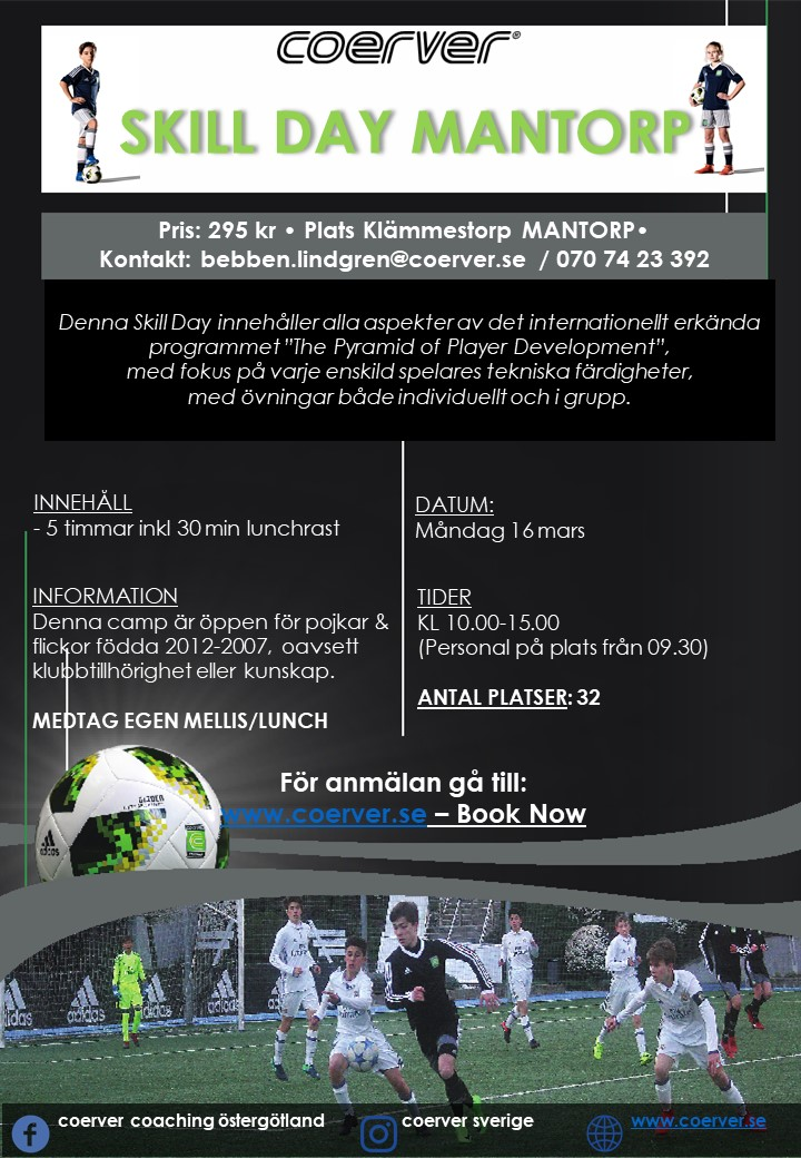 Skill Day Mantorp 16 mars