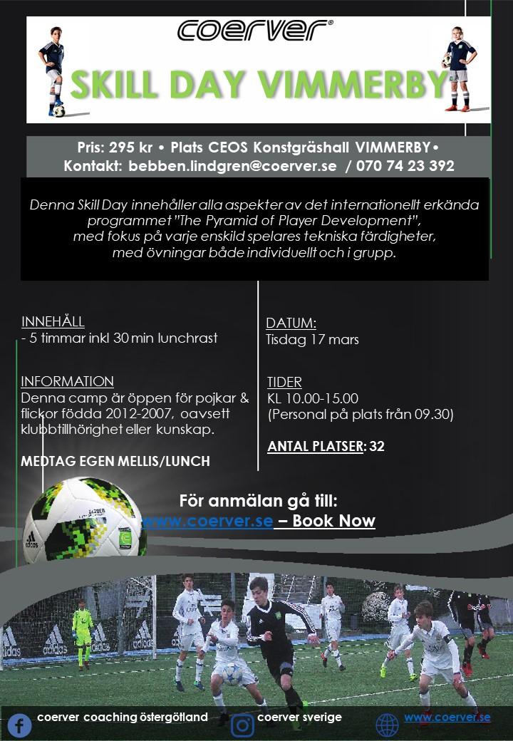 Skill Day Vimmerby 17 mars