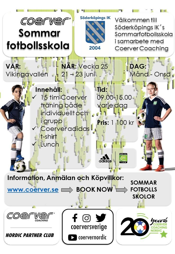 Söderköpings IK´s Sommarfotbollsskola 2021