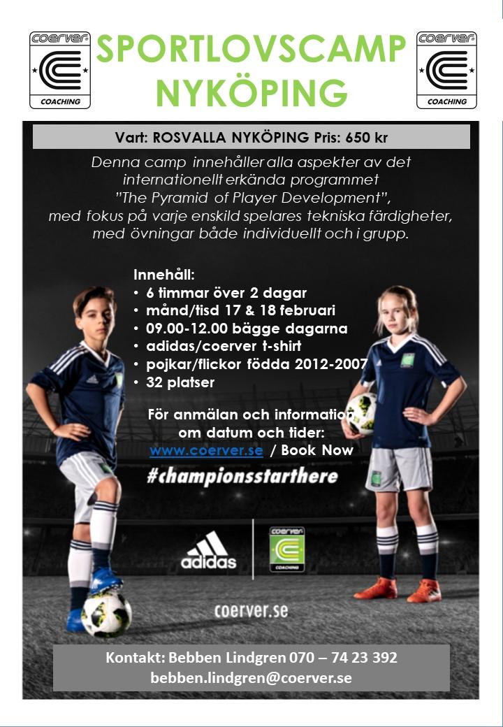 Sportlovscamp Nyköping 2020