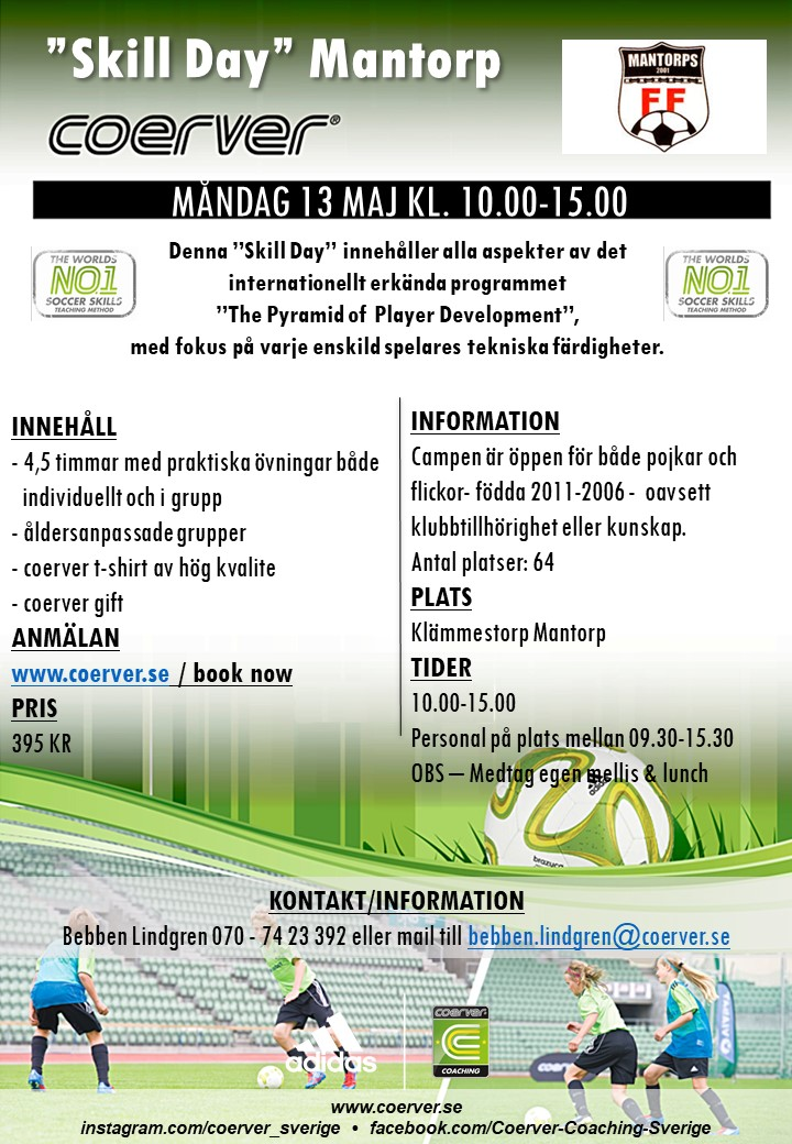 SKILL DAY MANTORP 13 MAJ