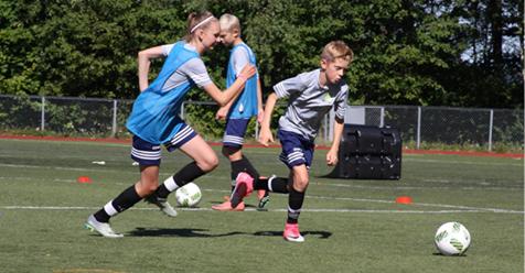 Sommarfotbollsskola Eneby BK Norrköping