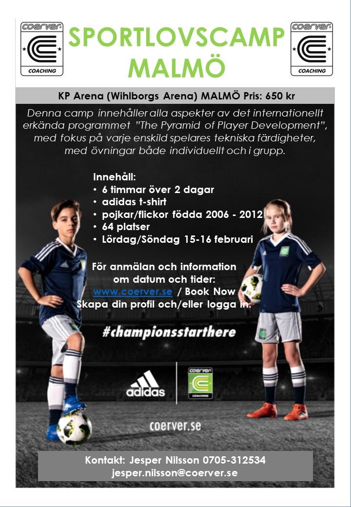 Sportlovscamp Malmö 2020