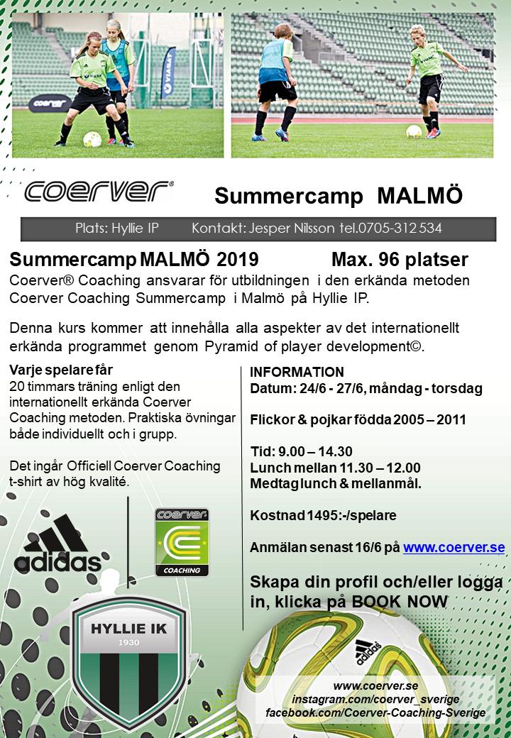 Summercamp Malmö 2019