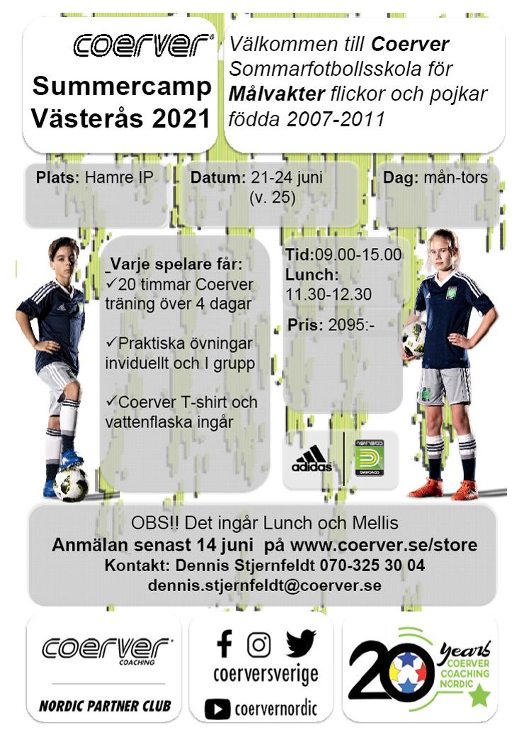 Summercamp Västerås - MÅLVAKT