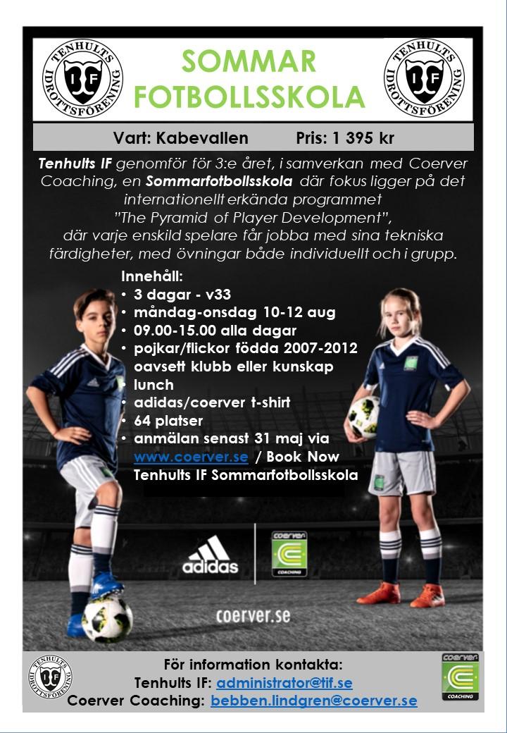 Tenhults IF Sommarfotbollsskola 2020 v33