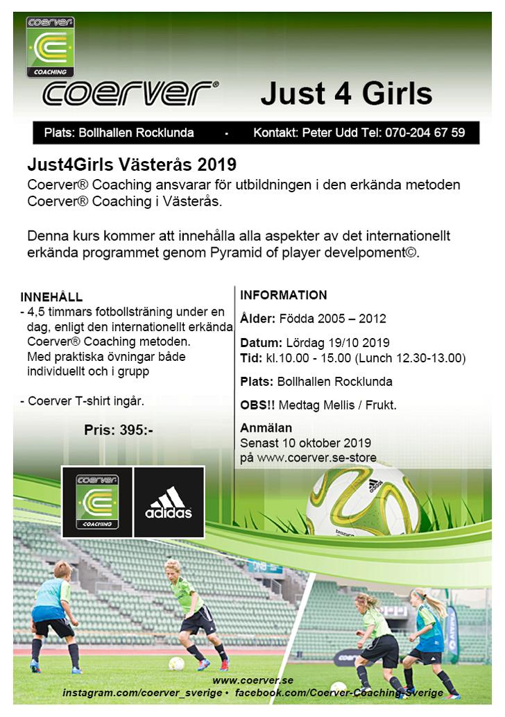 Just4Girls - Västerås