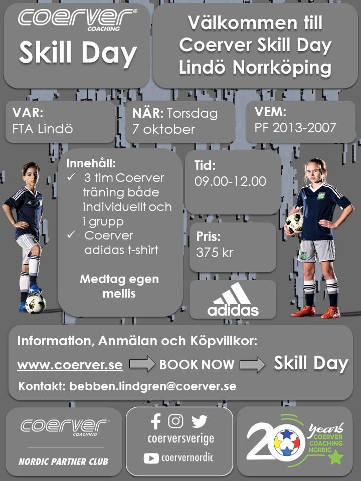 Skill Day Norrköping 7 oktober